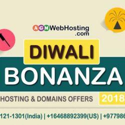 Web Hosting and Domains Diwali Bonanza!