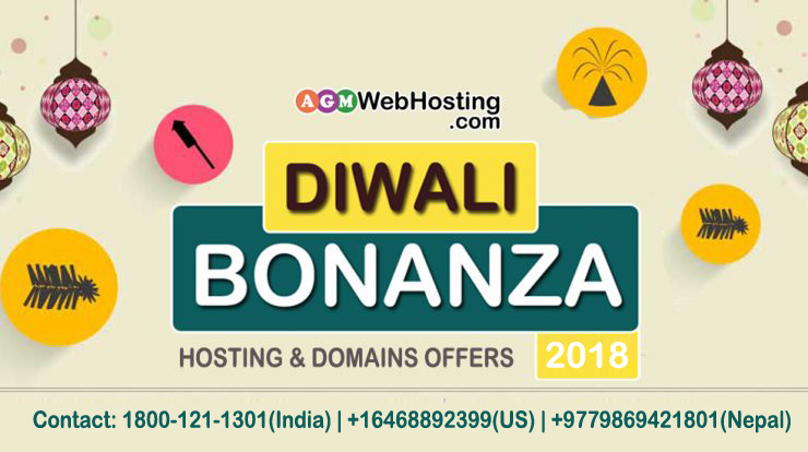 Web Hosting and Domains Diwali Bonanza!