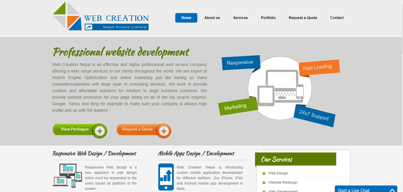 Web Creation Nepal
