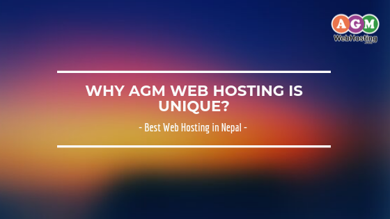Why AGM Web Hosting is Unique