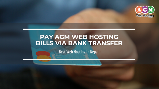 Pay AGM Web Hosting Bills Via Bank Transfer