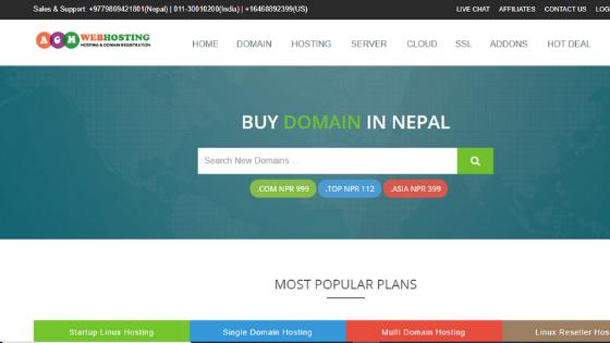 buy hosting in Nepal