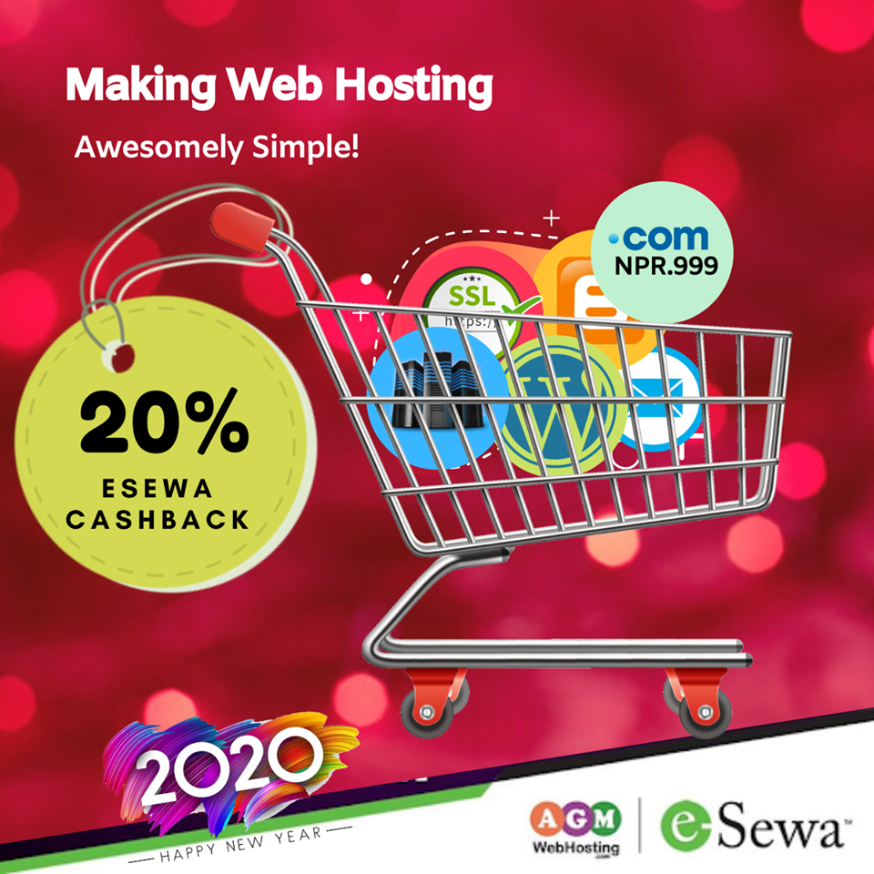 Instant eSewa Cashback on Web Hosting Deals