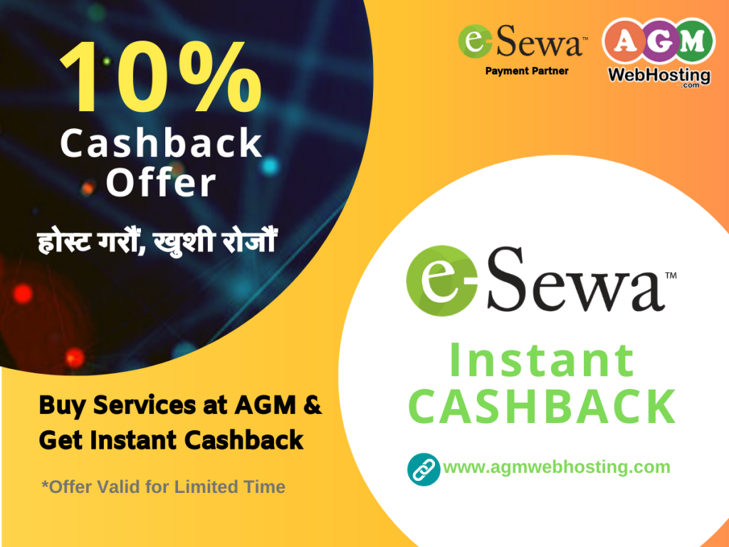 Instant eSewa Cashback Offer