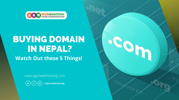 buy domain in Nepal